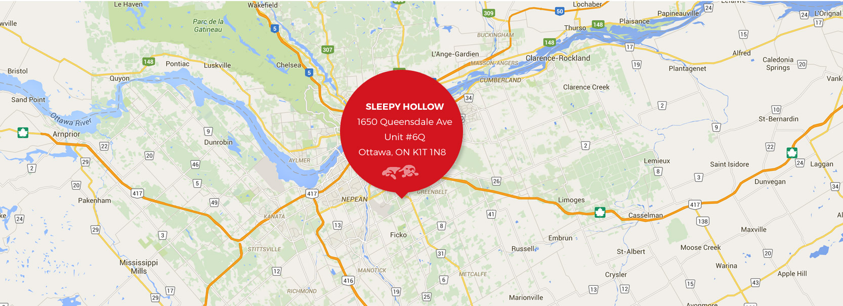 sleepy hollow map address