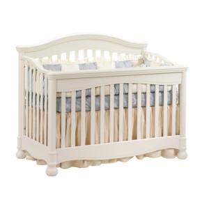 avalon white crib