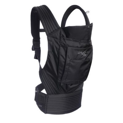 outback black baby carrier