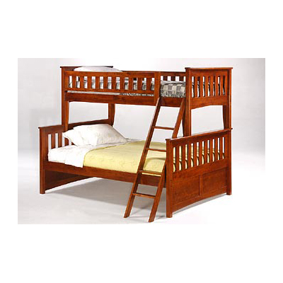 ginger coloured bunk bed