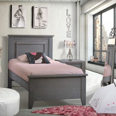 Rustic Single bed-2
