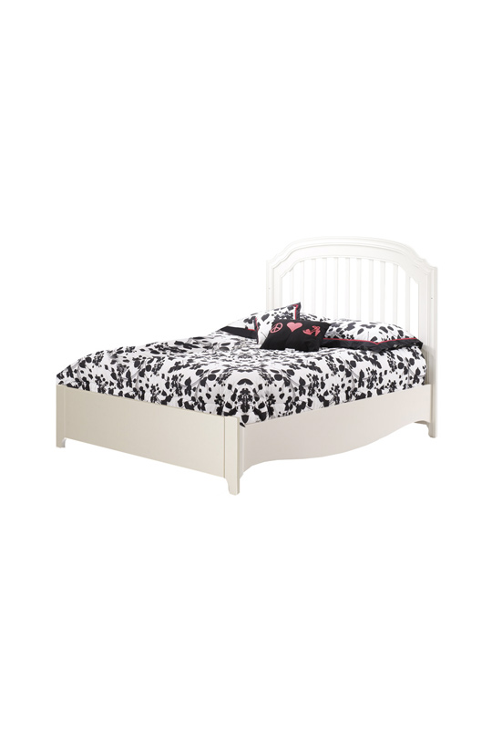Allegra double bed 54 low profile footboard sleepy hollow canada - Low double bed images ...