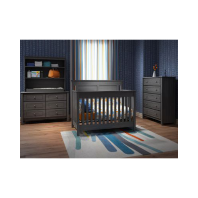 hampton wooden crib kids bedroom
