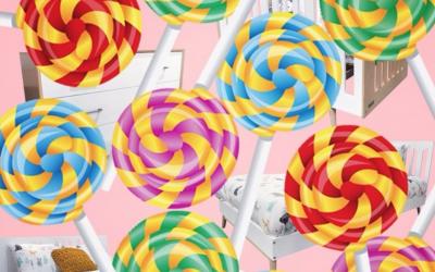 Meet Dutailier's New Lollipop Collection