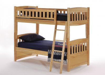 Cinnamon Twin Twin Bunk Natural