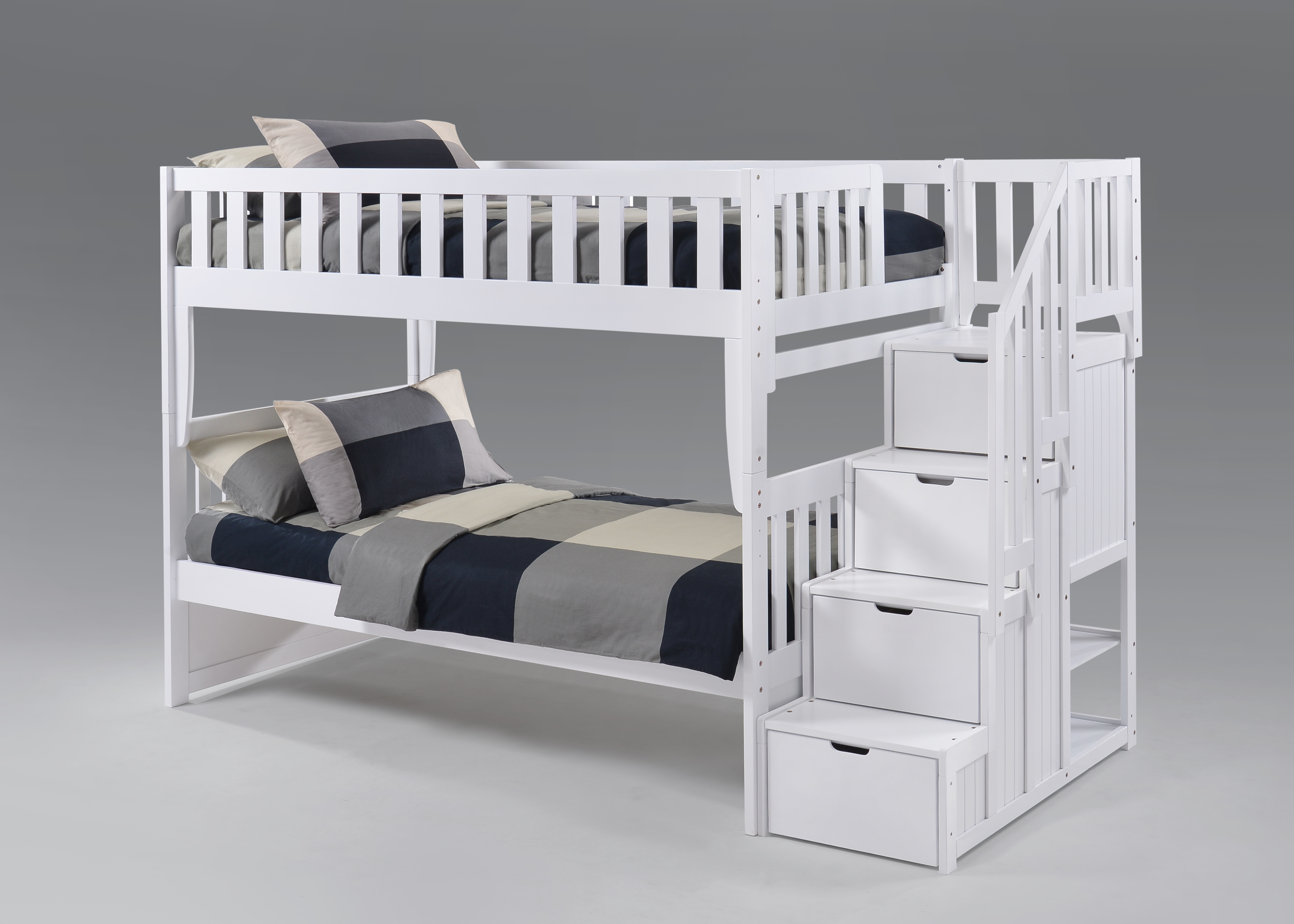 Night And Day Peppermint Stair Bunkbed Twin Twin Sleepy