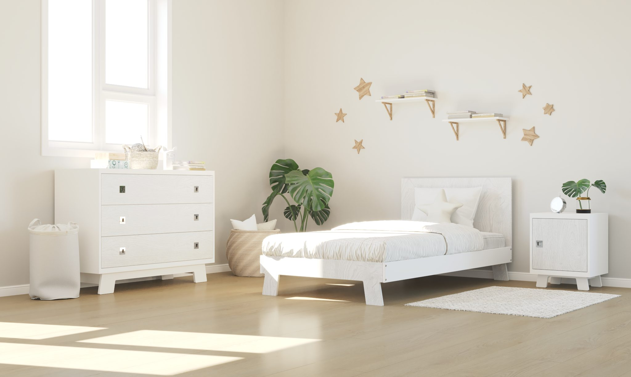 dutailier white rustic white collection