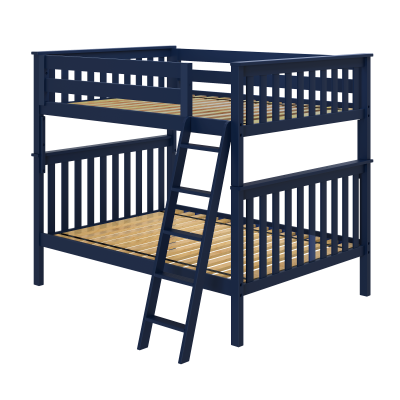 Cambridge 1 Full/Full Bunk Bed with Angled Ladder