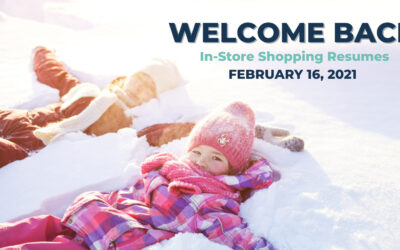 Welcome Back to In-Store Shopping!
